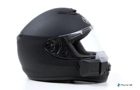 示系统的摩托车头盔 -将摩旅进行到底