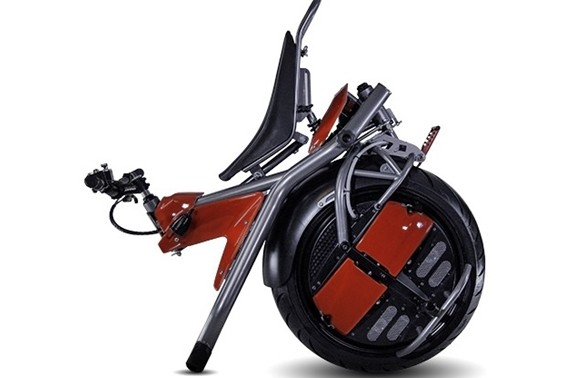 奇葩单轮摩托车 这怎么骑? - 中国摩托迷网 - 摩