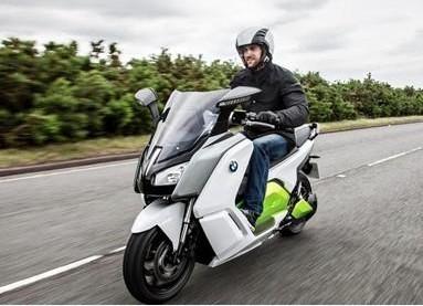 最高时速120公里bmw电动摩托车
