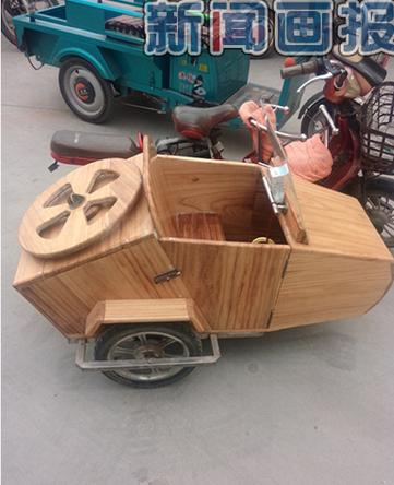 巧工能匠:自制偏三轮车摩托车 - 中国摩托迷网